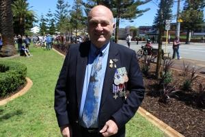 War veteran John Doonan