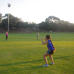 Monique Dodgson, Heathridge Oval