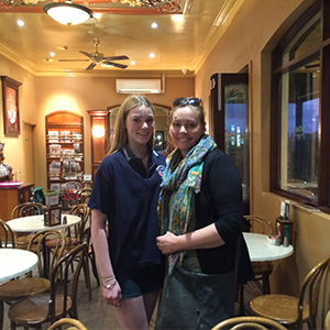 Anabel Bullen Randall and her mother, Bron Bullen