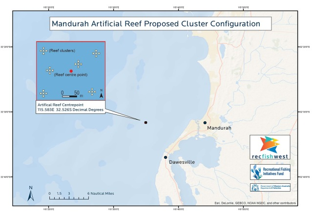 Mandurah artificial reef