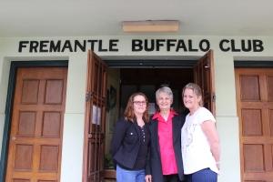 The Buffalo Girls: Lyn Gray, Viki Roberts, and Kylie Powley