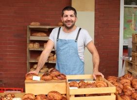 Paul Aron, owner of Mary Street Bakery. Photo: Eleri Teesalu.