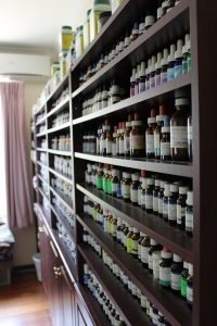 Dr Middle's extensive range of homeopathic ointments