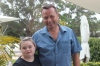 Sarah Buchanan and her father, Mike Buchanan.  Photo: Joanna Delalande.